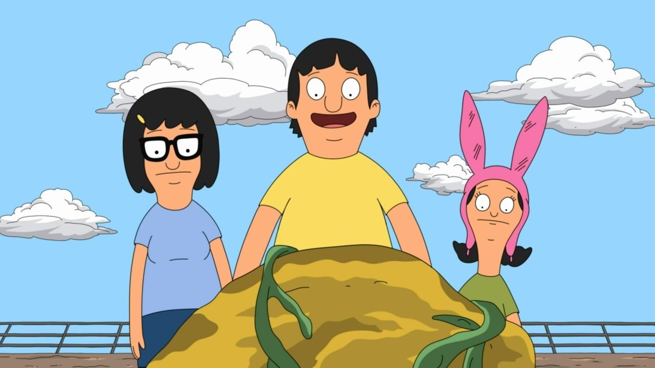 Tina, Louise, and Gene find a hunk of ambergris (from season four episode 18).