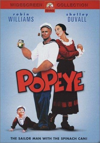 Image of the Popeye movie poster.