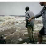 Image of Jeremy Wade by the Congo river
