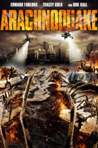 The 'Arachnoquake' movie poster