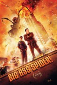 The 'Big Ass Spider!' movie poster.