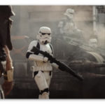 Image of Storm Troopers and a tank from Rogue One