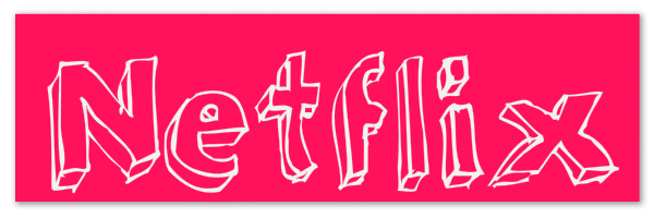 "Red banner with text ""Netflix"""