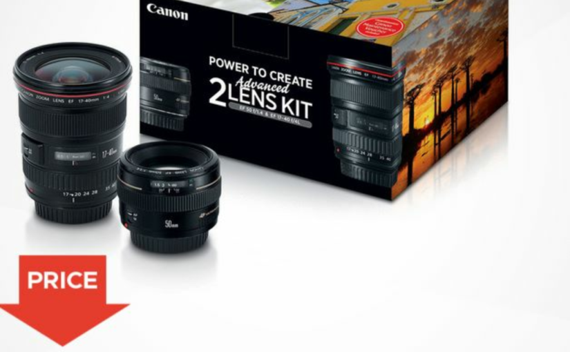 Pricing for the Canon Advanced Two Lens Kit