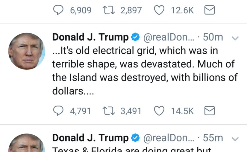 Donald Trump & Puerto Rico – L O L
