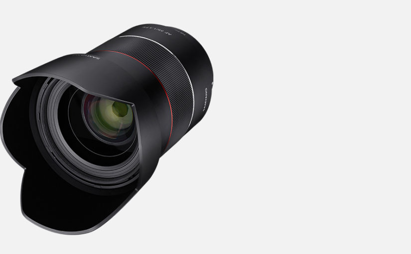 Samyang Optics Announces 35mm Sony E Mount Lens