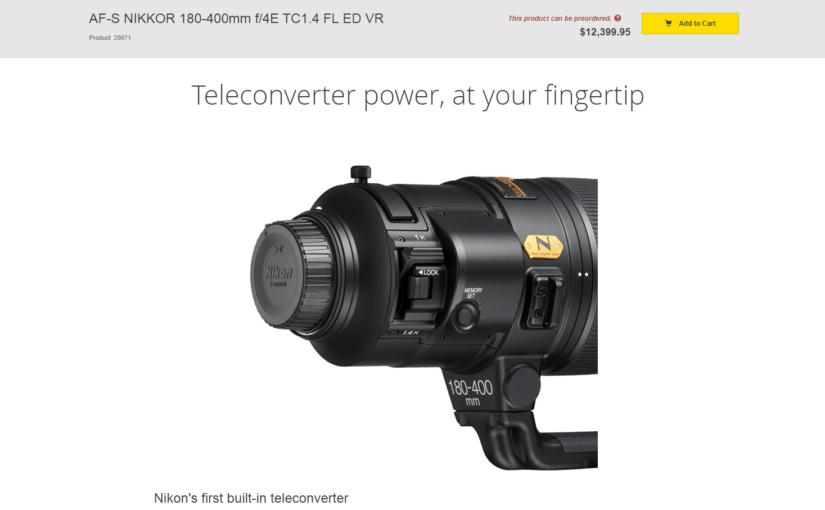 Nikon & Lens Rivalry – <em>200-600mm Canon and Sony Lens Coming?</em>